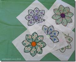 Mar 16 green fabric