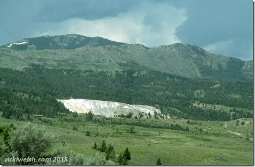 June 9 7 Mammoth Hot Springs