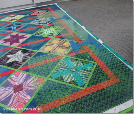 Jan 18 blocking quilt 2