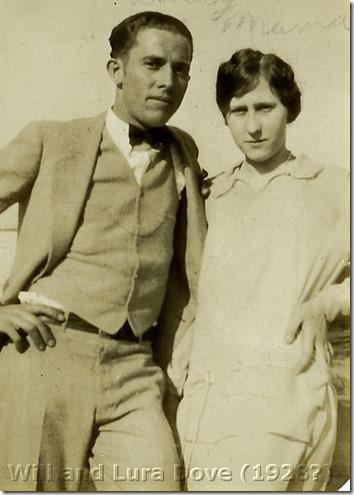Will and Lura Dove 1928