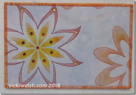 2016 02 06 Shiva stenciled flowers 1