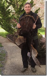 Chris with spring turkey 04162015