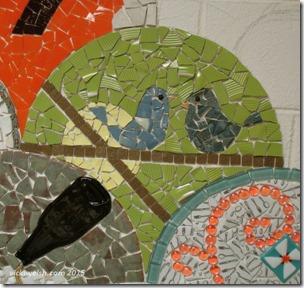 May 15 bluebird mosaic