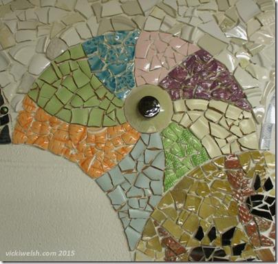 July 24 mosaic swirl