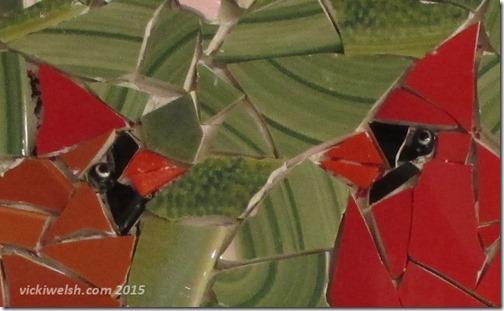 Sep 18 cardinal mosaic 3