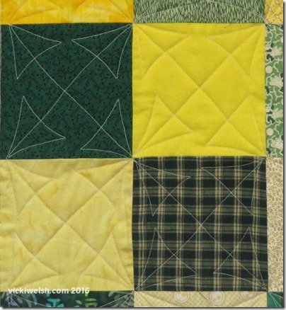 Jan 7 Arrow quilt 2