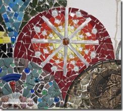 Apr 25 mosaic sun burst