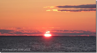June 29 sunset